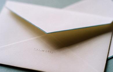 Crane & Co. envelope