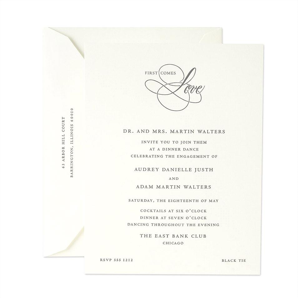 help wedding stationery etiquette engagement party invitation wording