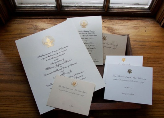 Presidential stationery