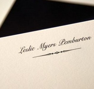 personalized monogram notes