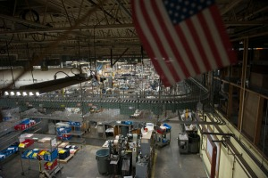 crane and co. factory american flag