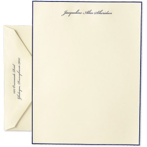 personalized letter sheets