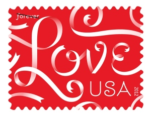 louise fili love stamp