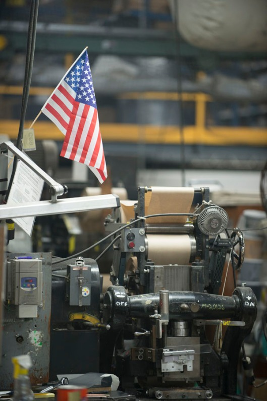 american flag printer factory