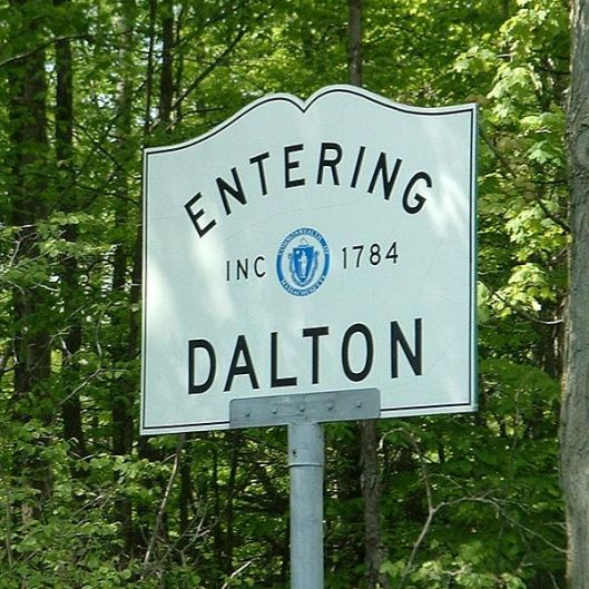 dalton massachusetts sign