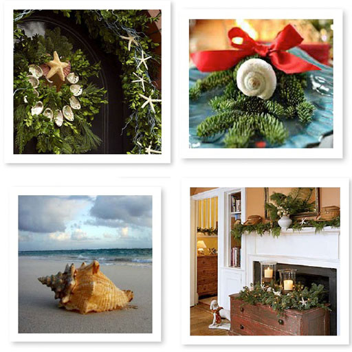 engraved coastal holiday cards imagery inspiration