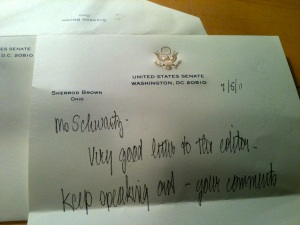 letter from us senator sherrod brown