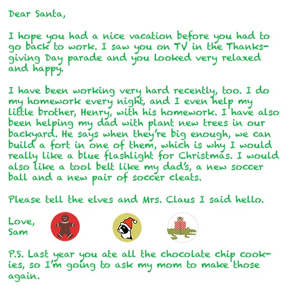 How to write a letter for santa images letter format formal sample how to write a letter for santa image collections letter format how to write a letter spiritdancerdesigns Gallery