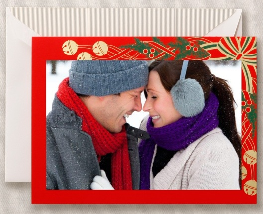 sleigh bells photo greeting card