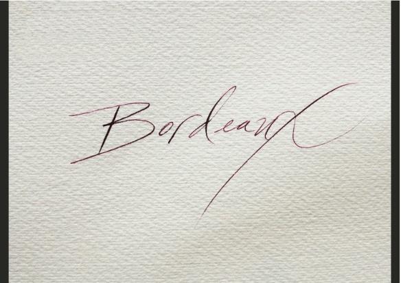 laura di piazza calligraphy bordeaux