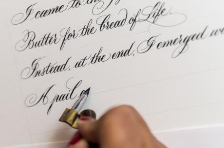 laura di piazza calligraphy