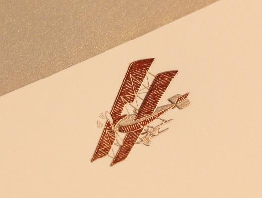 engraved flights of fancy airplane