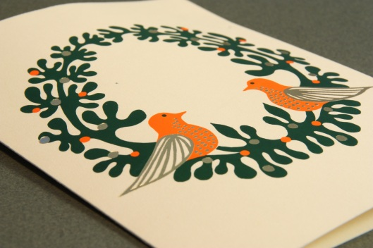 bird wreath holiday card archive detail lores