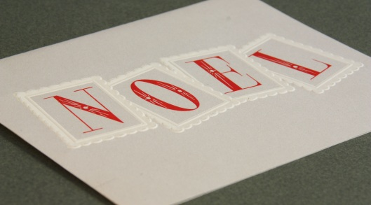 noel holiday card archive detail