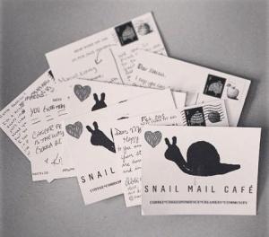 snail mail cafe