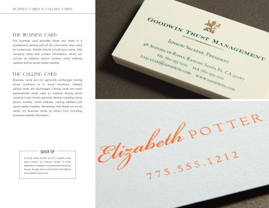 business essentials-business-and-calling-cards