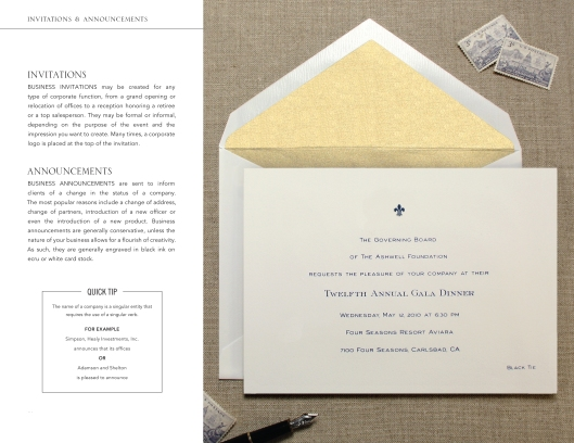 business essentials-invitations-and-announcements
