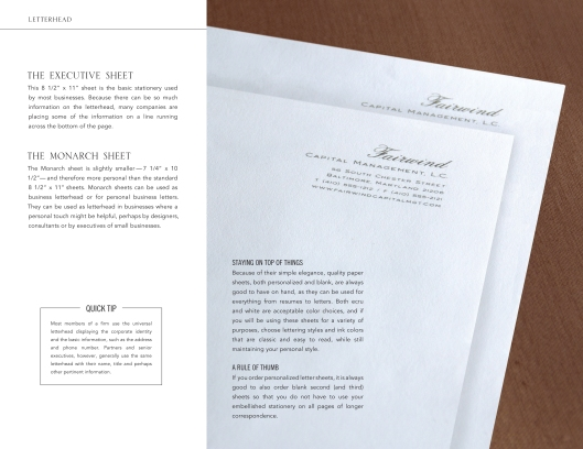 business essentials-letterhead